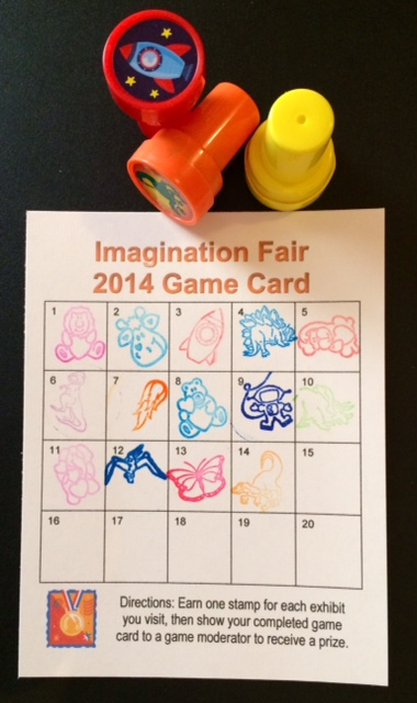 Imagination Fair Game Card